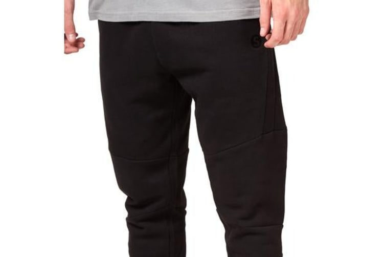 Saucony Mens Tech Fleece Pant (Black, Size S)