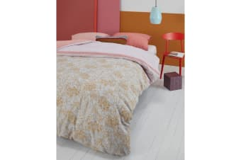 Fineliner Soft Pink Cotton Sateen Quilt Cover Set by Oilily