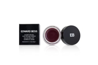 Edward Bess Glossy Rouge For Lips And Cheeks - # Spanish Rose 4.05g/0.14oz
