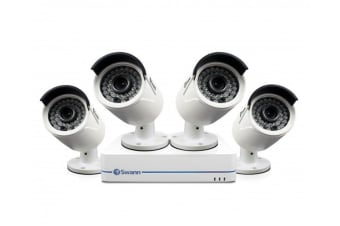 Swann 4 Channel 1080p 500GB NVR with 4 x NHD-810 Cameras (SONVK-472854)