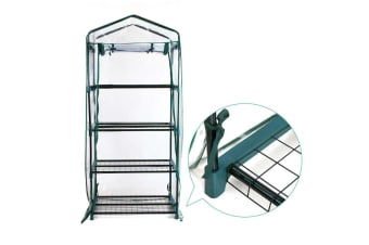 4 Tiers Garden Greenhouse Tunnel Plant stand Grow Sheds Green House