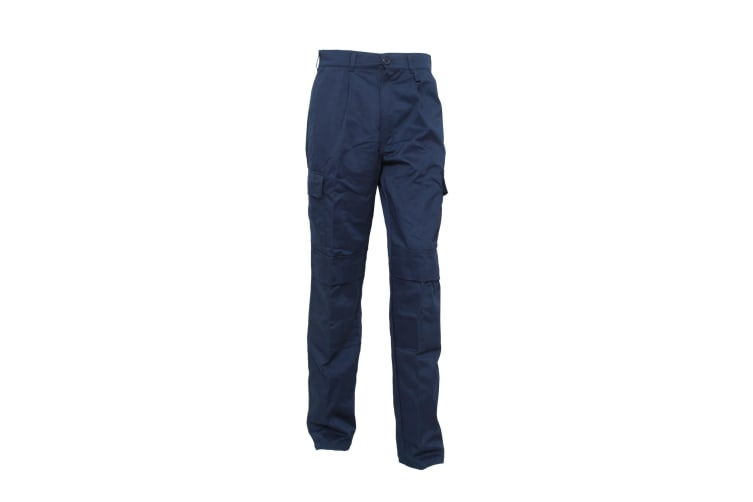 UCC Mens Workwear Heavyweight Combat Trousers (Regular) / Pants (Navy Blue) (44W x Regular)