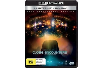 Close Encounters of the Third Kind Special Edition 4K Ultra HD Blu-ray UHD