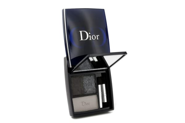 Christian Dior 3 Couleurs Smoky Ready To Wear Eyes Palette - # 091 Smoky Black (5.5g/0.19oz)