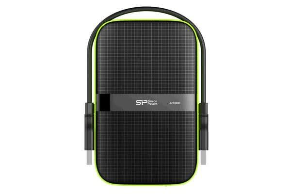 "Silicon Power Armor A60 Shock Resistant 1TB HDD 2.5"" USB 3.0"