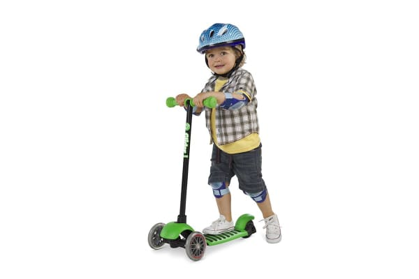 Yvolution Y Glider Deluxe Scooter (Green)