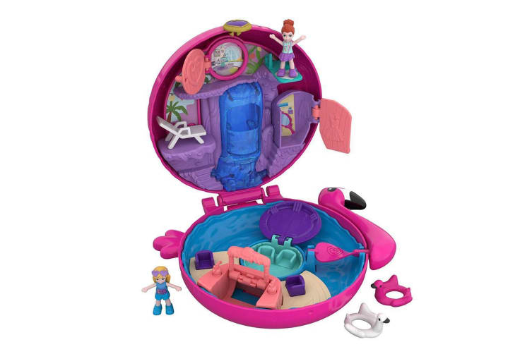 Polly Pocket Big Pocket World Flamingo Floatie