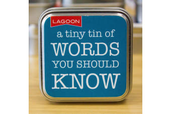 Tabletop Entertainment Fun in a Tin - Words You Should Know