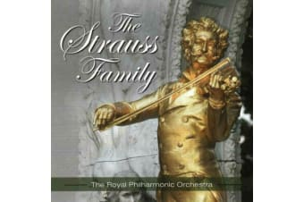The Strauss Family - The Royal Philharmonic Orchestra MUSIC CD NEW SEALED