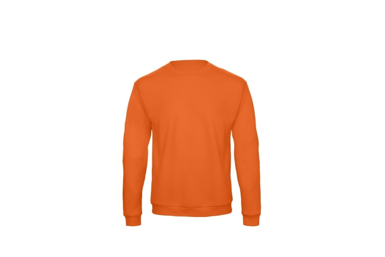 B&C Adults Unisex ID. 202 50/50 Sweatshirt (Pumpkin Orange) (XS)