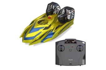 Silverlit 1:18 2.4GHz RC Amphibious Boat Drive On Land or Water. Dual Propeller System