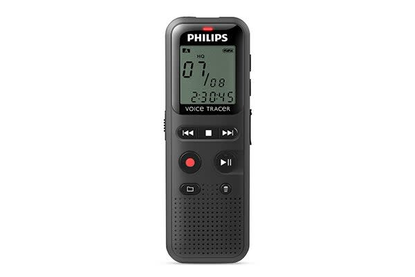 Philips 4GB Recording Voice Tracer Digital Recorder (DVT1150)