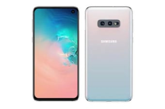 New Samsung Galaxy S10e Dual SIM 128GB 4G LTE Smartphone Prism White (FREE DELIVERY + 1 YEAR AU WARRANTY)