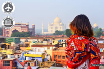 INDIA: 8 Day India Tour Including Flights for Two