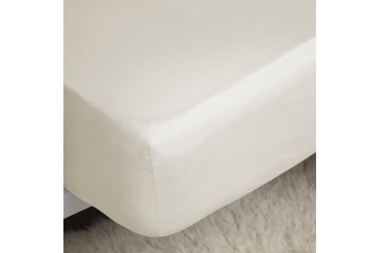 Belladorm Pima Cotton 450 Thread Count Extra Deep Fitted Sheet (Ivory) (Double)