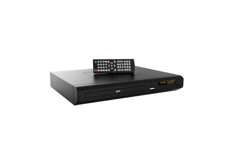 Laser Multi-Region CD/DVD Player/USB/HDMI Port/Composite/RCA Free Zone Code BLK