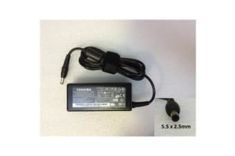 Toshiba Original Notebook Power Adapter/Charger 19V 3.42A 65W (5.5x2.5mm) / 12 month warranty