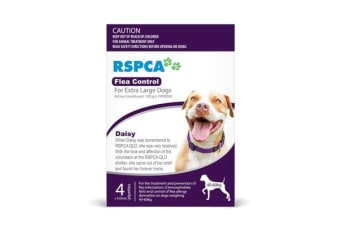 RSPCA Flea Control for Extra Large Dogs