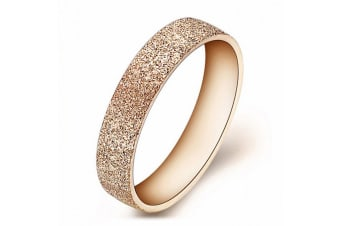 Shimmer Ring-Rose Gold Size US 7