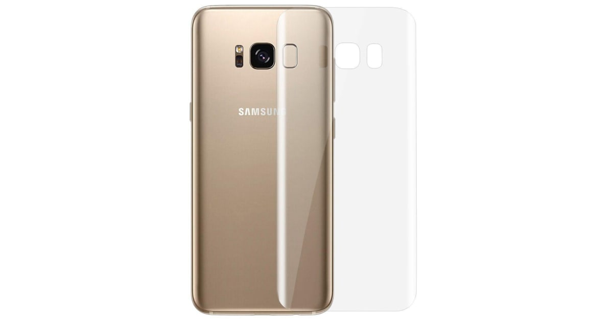 buy online 8d46e 6518e For Samsung Galaxy S8 Fully Curved Edge to Edge High-Quality Back Protector  | Screen Protectorss