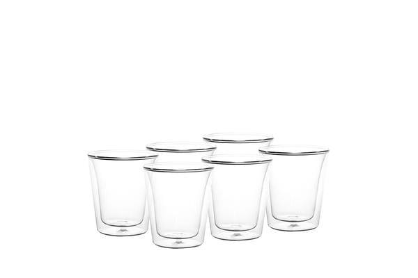 Bodum Canteen 6pc Double Wall Glasses 200ml
