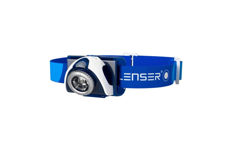 Led Lenser SEO 7R - Blue/Rechargeable/Clam Pack
