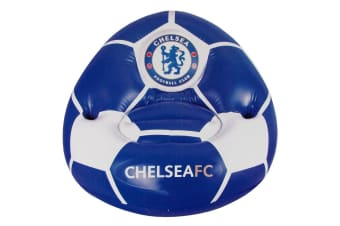 Chelsea FC Inflatable Chair (Blue/White)