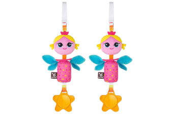2PK Benbat Wind Chime Princess Toy