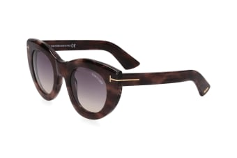 Tom Ford Women's Marcella Sunglasses - Coloured Havana/Smoke