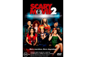 Scary Movie 2 -Comedy Rare- Aus Stock DVD PREOWNED: DISC LIKE NEW