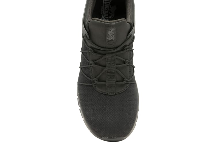 Lonsdale Mens Epic Trainers (Black) (12 UK)