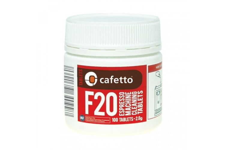Cafetto F20 Espresso Machine Cleaning Tablets - 100