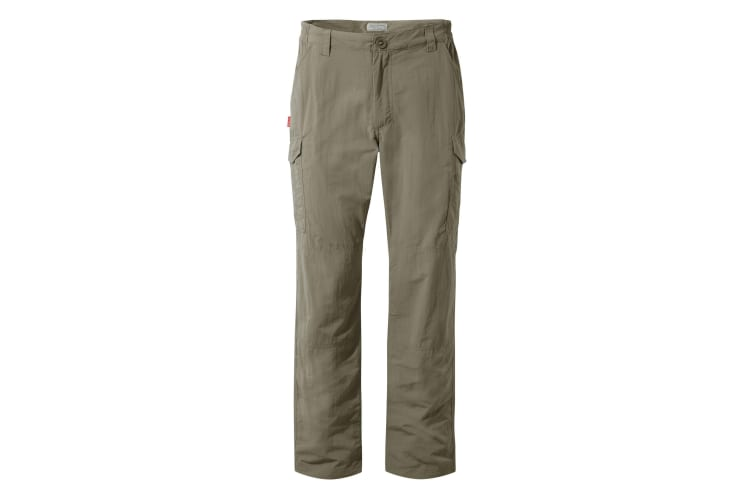 Craghoppers Mens NosiLife Cargo II Trousers (Pebble) (33L)