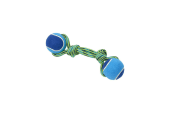 Buster Colour Tuggaball Double Dog Toy (Lime)