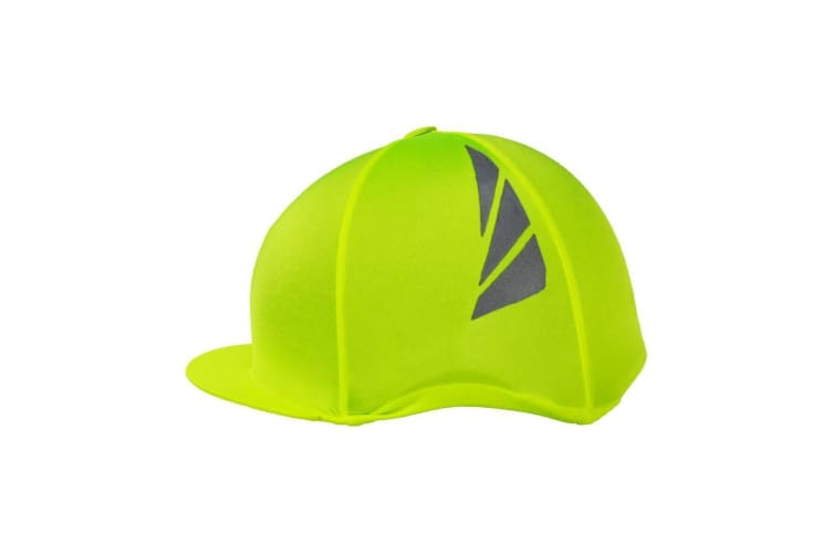 HyVIZ Reflector Hat Cover (Fluorescent Yellow) (One Size)