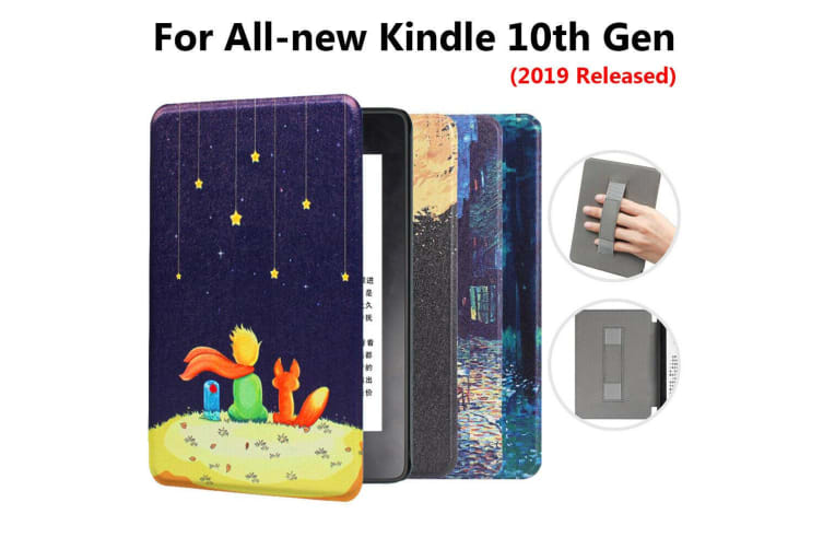Leather Case Ultra Slim Magnetic Cover For Amazon All-new Kindle 10th Gen 2019-NO13 Pattern