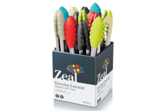 Zeal Silicone Tongs