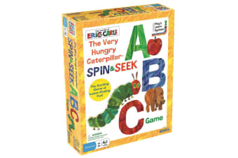The Very Hungry Caterpillar, Spin & Seek Abc Game