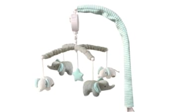 Living Textiles Musical mobile set Elephant