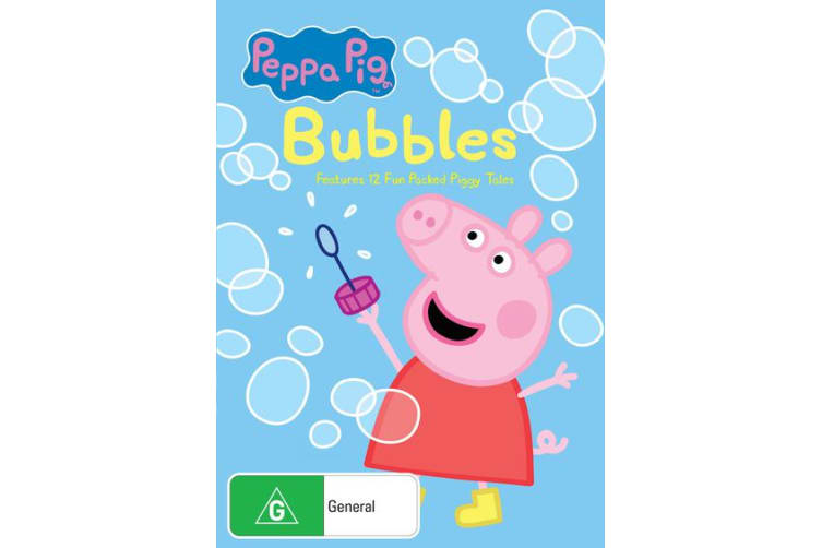 Peppa Pig Bubbles and Other Stories DVD Region 4