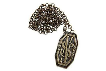 Fantastic Beasts Find Them Newt's Monogram Necklace / Pin