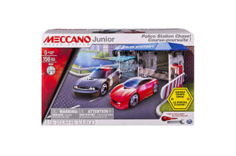 Meccano Junior Police Station Chase