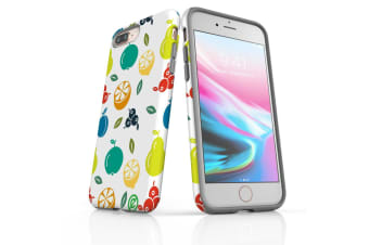 For iPhone 8 Plus Shielding Back Case  Fruit