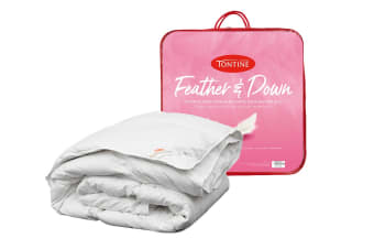 Tontine All Seasons 15/85 Duck Feather & Down Quilt (Single)