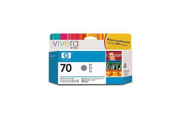 HP 70 130ml Grey Ink Cartridge