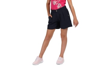 Regatta Kids Damita Vintage Look Shorts (Navy) (11-12 Years)