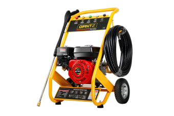 Giantz Petrol High Pressure Washer Gun Water Cleaner 8HP 4800PSI Gurney 20M Hose