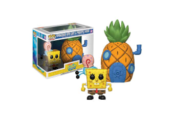 Spongebob with Pineapple Pop! Town