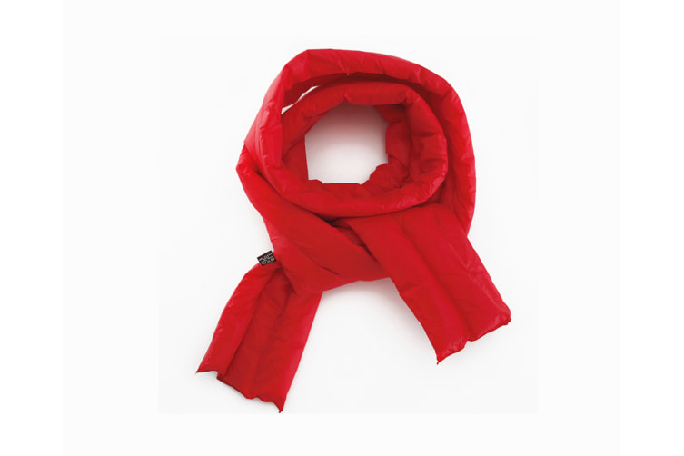 Autumn And Winter Scarf Simple Pure Color Scarf For Men And Women - Red Red 180X10Cm