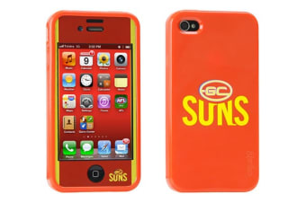 Gecko AFL Licensed iPhone 4/4S Case - Gold Coast